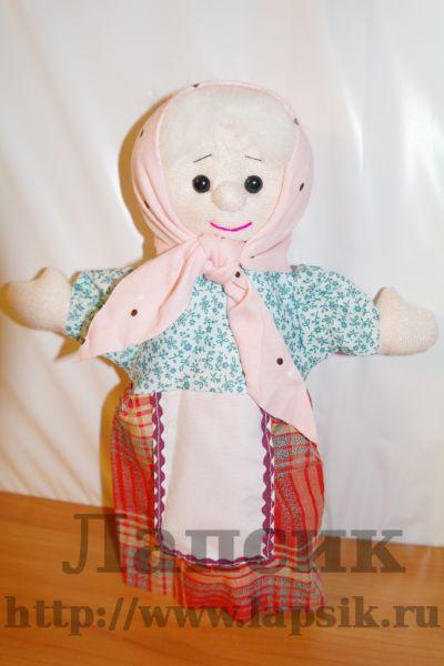 Как сделать перчатку куклу